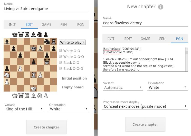 Study chess, the lichess way | Blog • lichess org